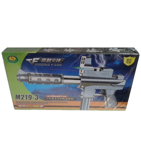 تفنگ بازی مدل یوزی کد m219-3