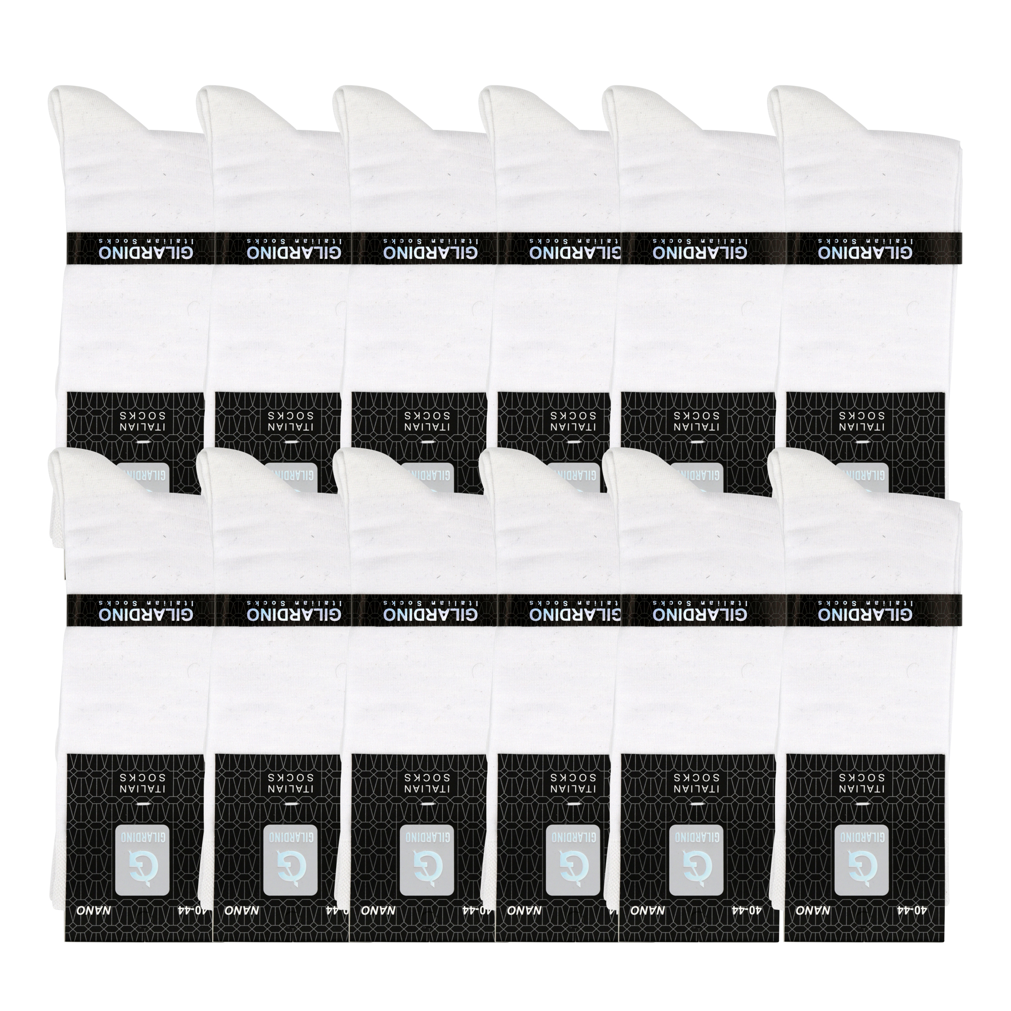 جوراب مردانه جیلاردینو مدل 10643 بسته 12 عددی
