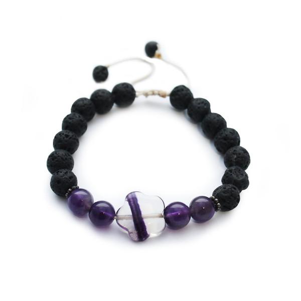 دستبند زنانه طب سنگ کد BF-115