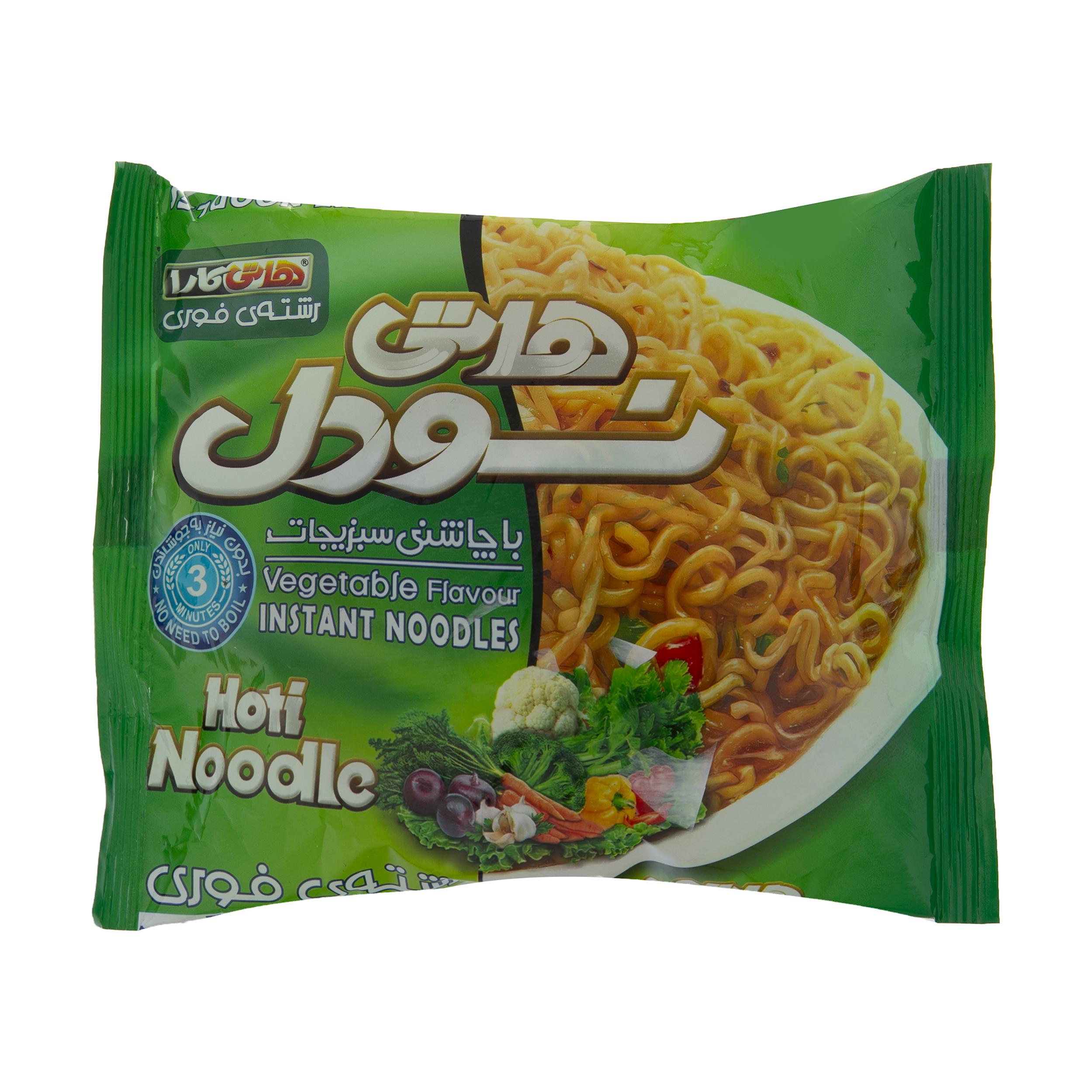 نودل هاتی کارا با طعم سبزیجات - 77 گرم