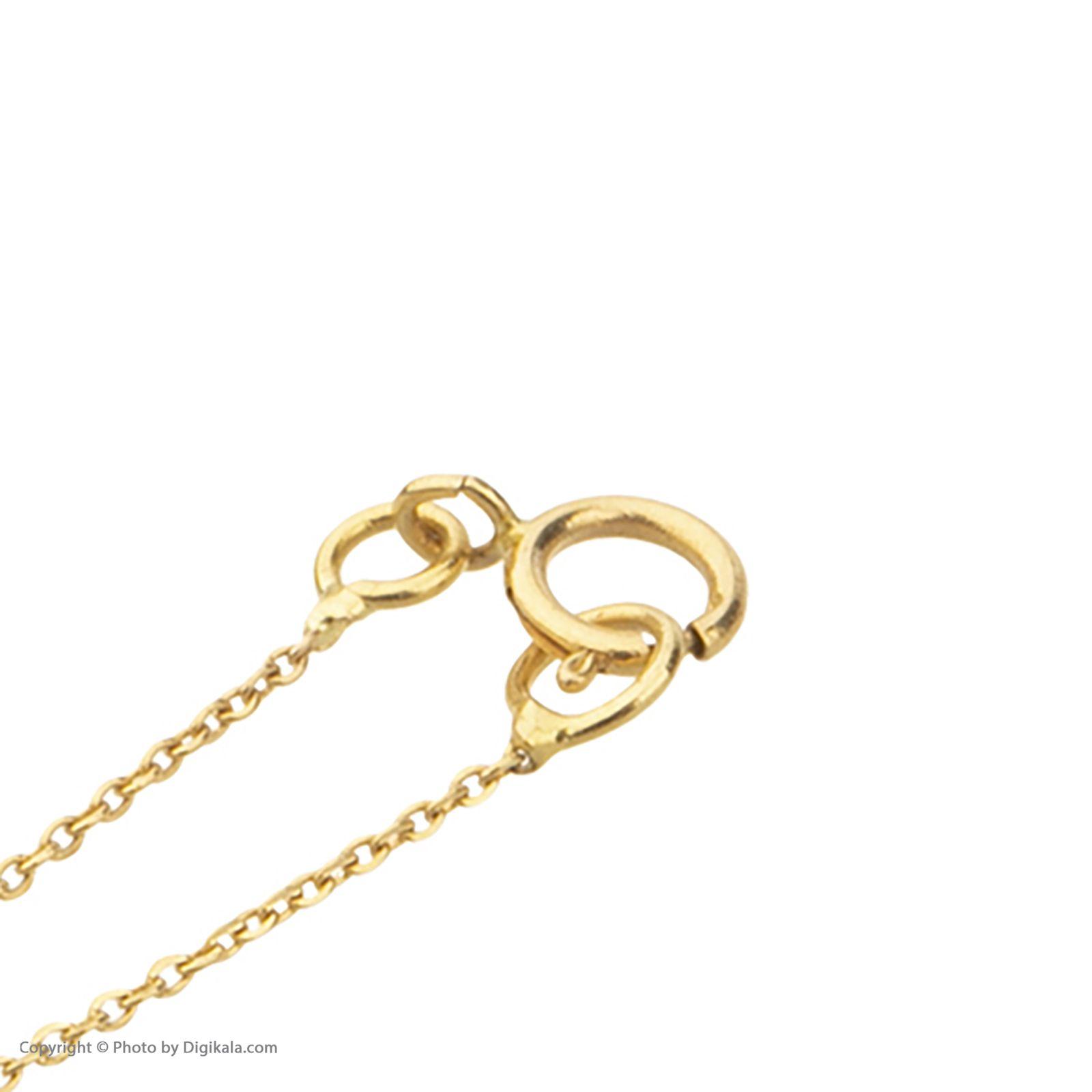 آویز ساعت طلا 18 عیار زنانه میو گلد مدل GD615 -  - 5