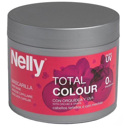 ماسک مو تثبیت کننده رنگ نلی مدل Total Colour حجم 300 میلی لیتر