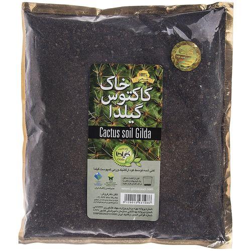 خاک کاکتوس گیلدا  بسته 1 لیتری