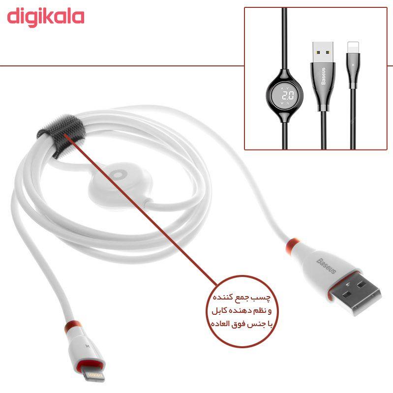 کابل تبدیل USB به لایتنینگ باسئوس مدل CALEYE طول 1.2 متر main 1 8