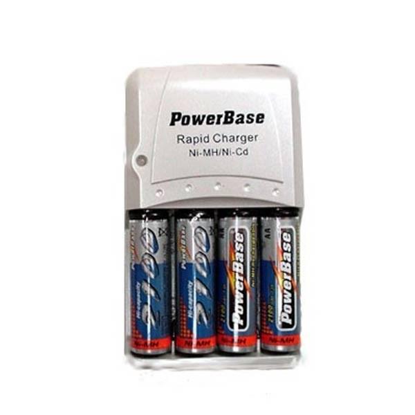 شارژ باتری قلمی 4 عددی پاوربیس Charger C-501