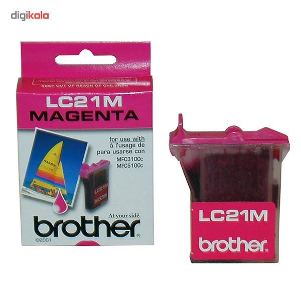 قیمت                      کارتریج پرینتر برادر LC21M (قرمز)