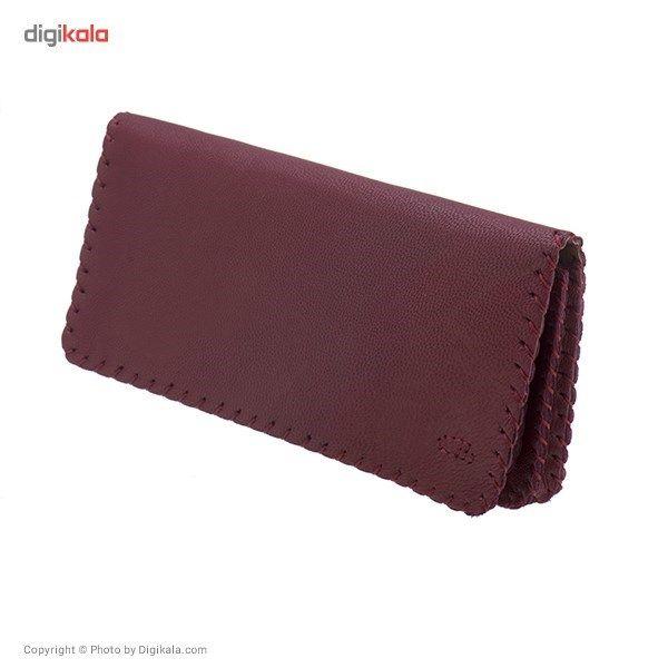 کیف پول چرم طبیعی گالری راد مدل کتی -  - 2