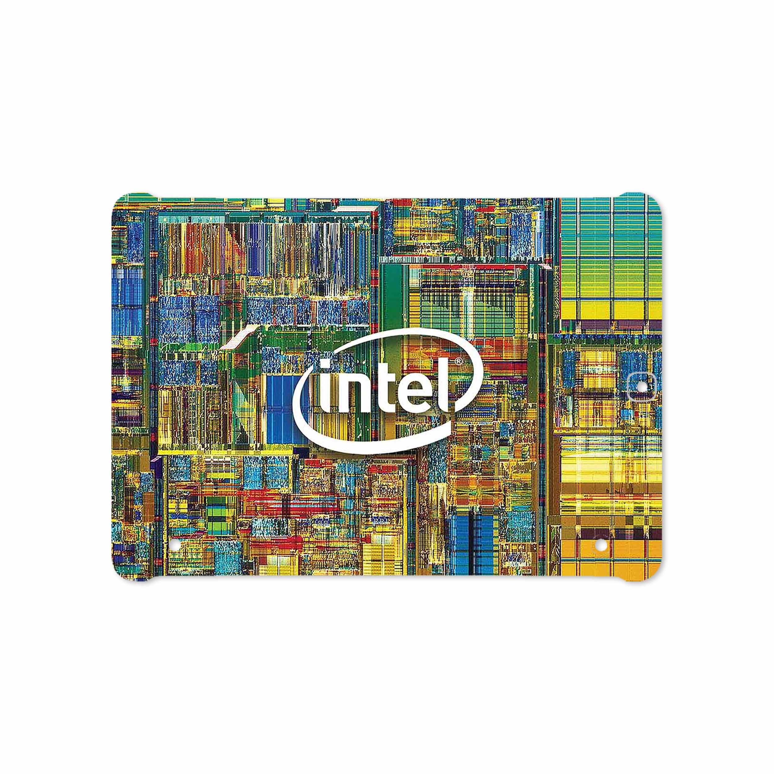 بررسی و خرید [با تخفیف]                                     برچسب پوششی ماهوت مدل Intel Brand مناسب برای تبلت سامسونگ Galaxy Tab S2 9.7 2015 T810                             اورجینال