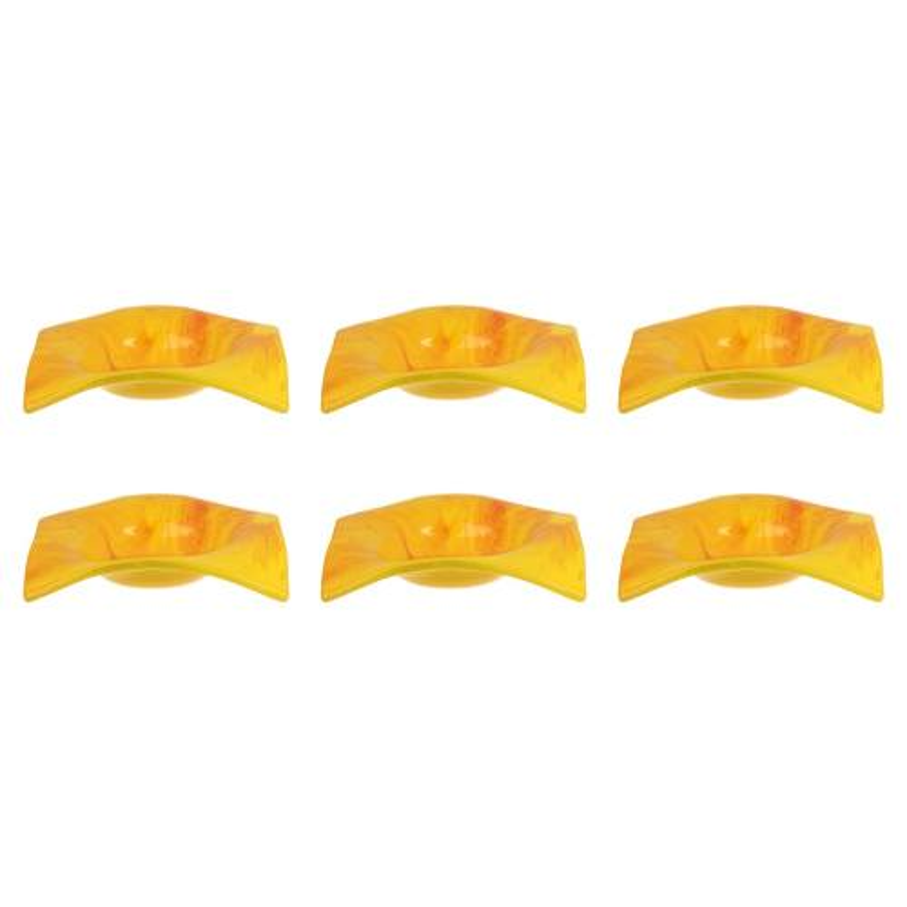 ظرف شیشه ای گالری آپادانا مدل مربعی مجموعه 6 عددی