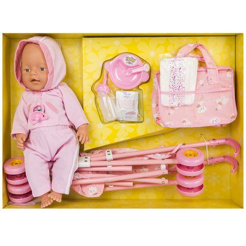 عروسک لاولی بیبی مدل Diverting Baby سایز بزرگ