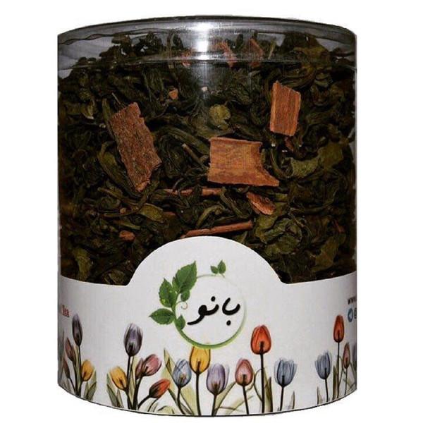 فوطی دمنوش ترکیبی بانو مدل چای سبز و دارچین