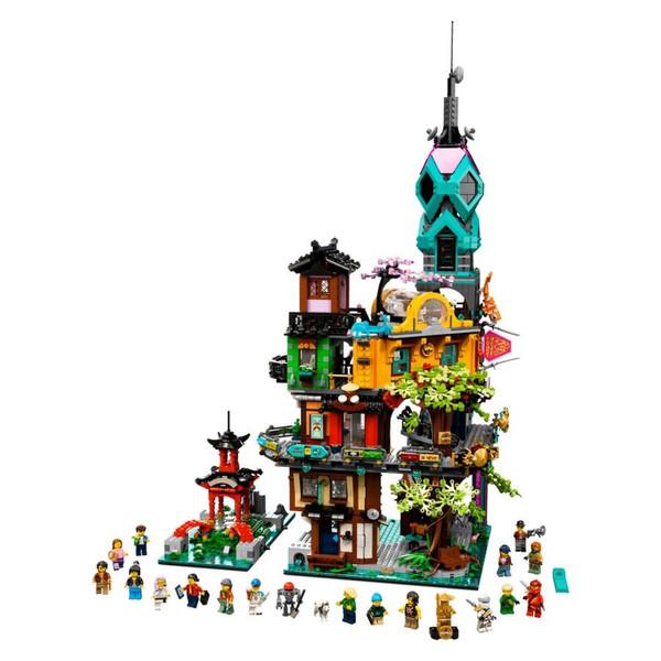 لگو مدل نینجا باغ شهری