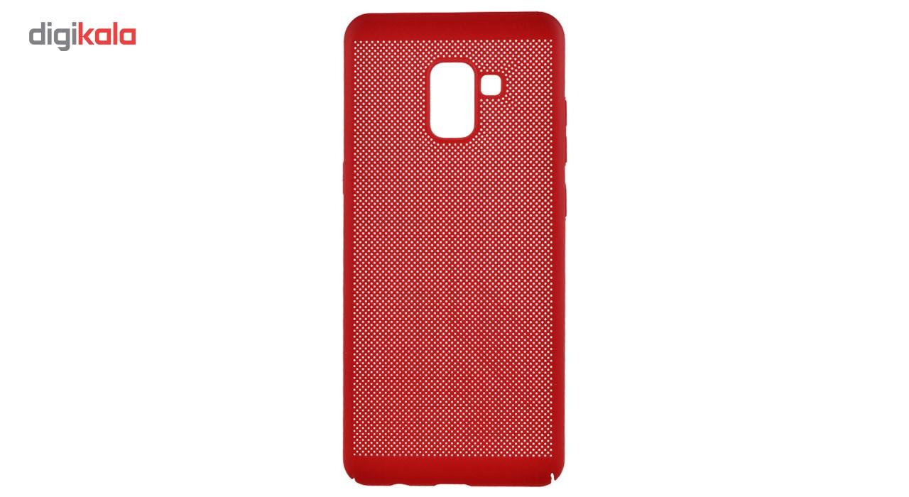 کاور مدل Hard Mesh مناسب برای گوشی موبایل سامسونگ Galaxy A8 Plus 2018 main 1 2