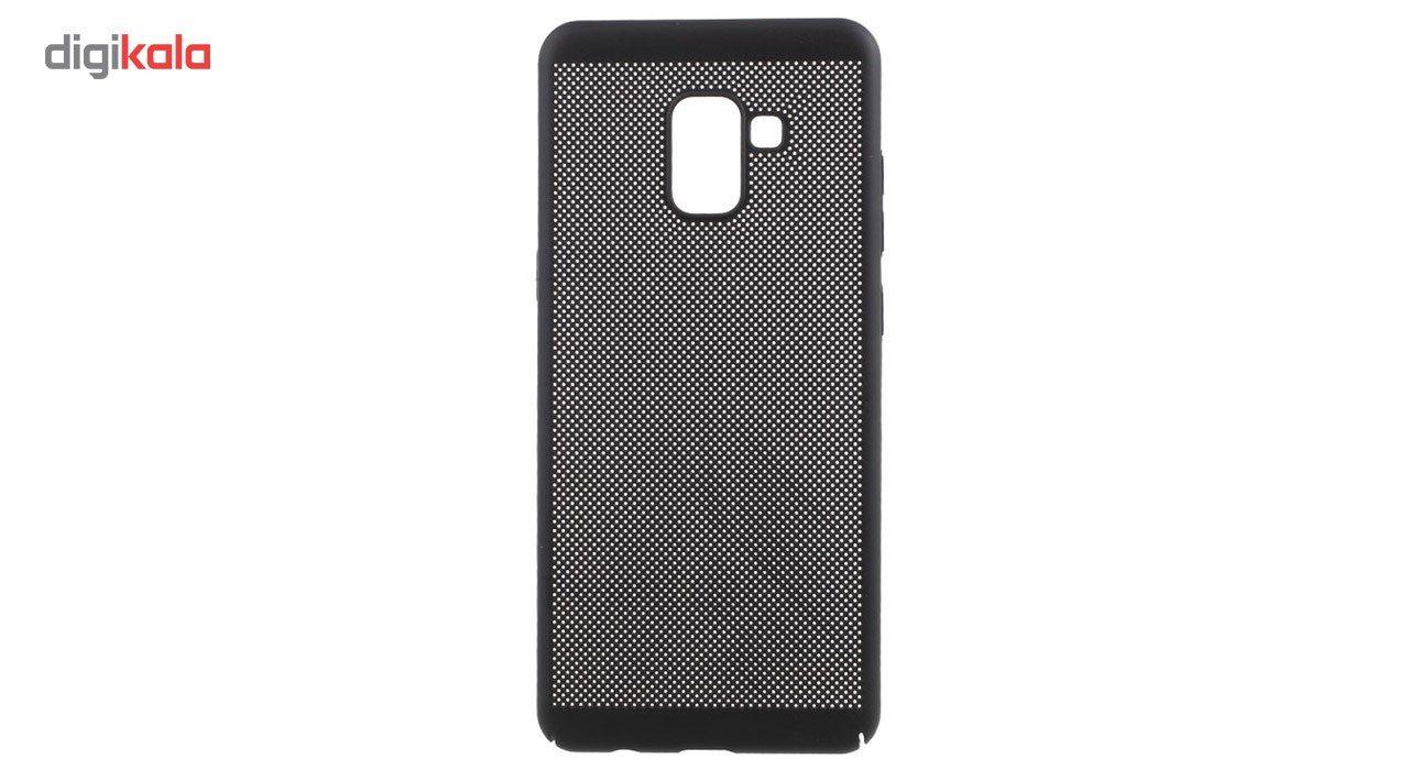 کاور مدل Hard Mesh مناسب برای گوشی موبایل سامسونگ Galaxy A8 Plus 2018 main 1 3