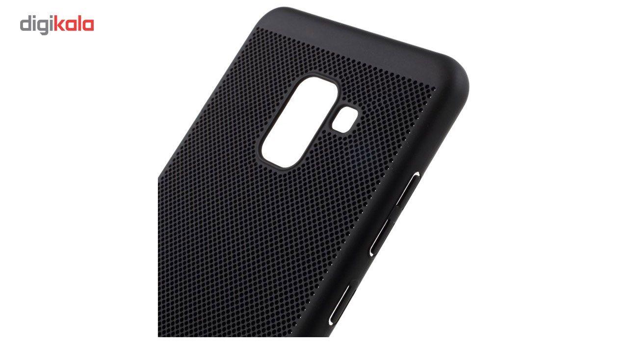 کاور مدل Hard Mesh مناسب برای گوشی موبایل سامسونگ Galaxy A8 Plus 2018 main 1 6