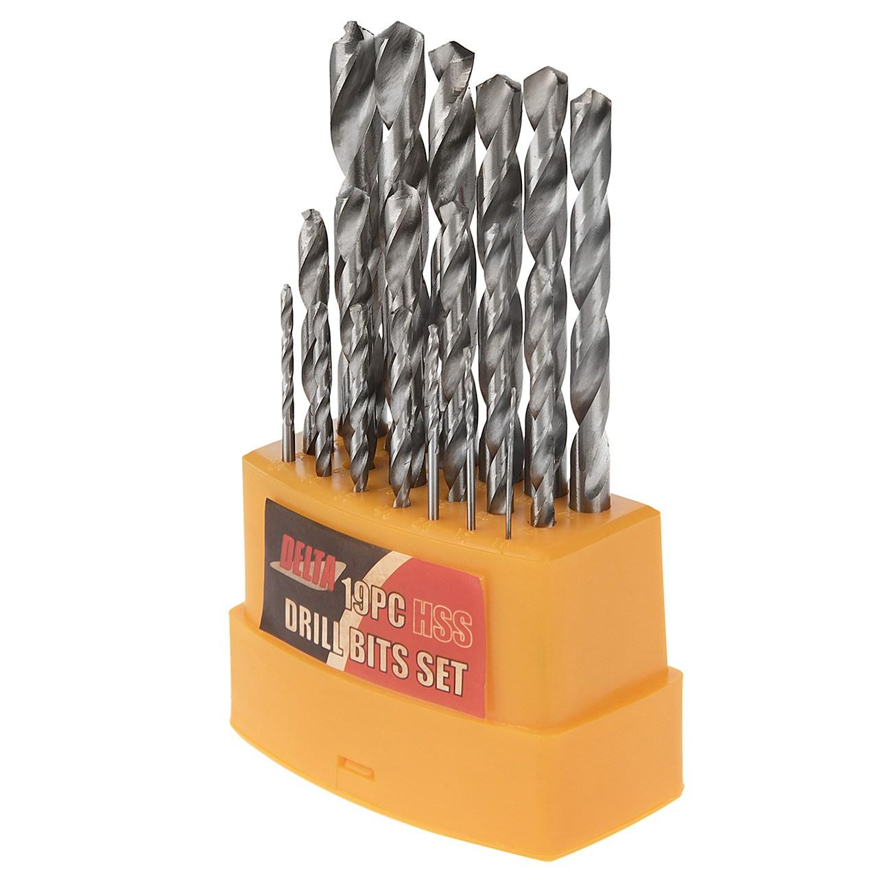 مجموعه 19 عددی مته فلز دلتا مدل 40751