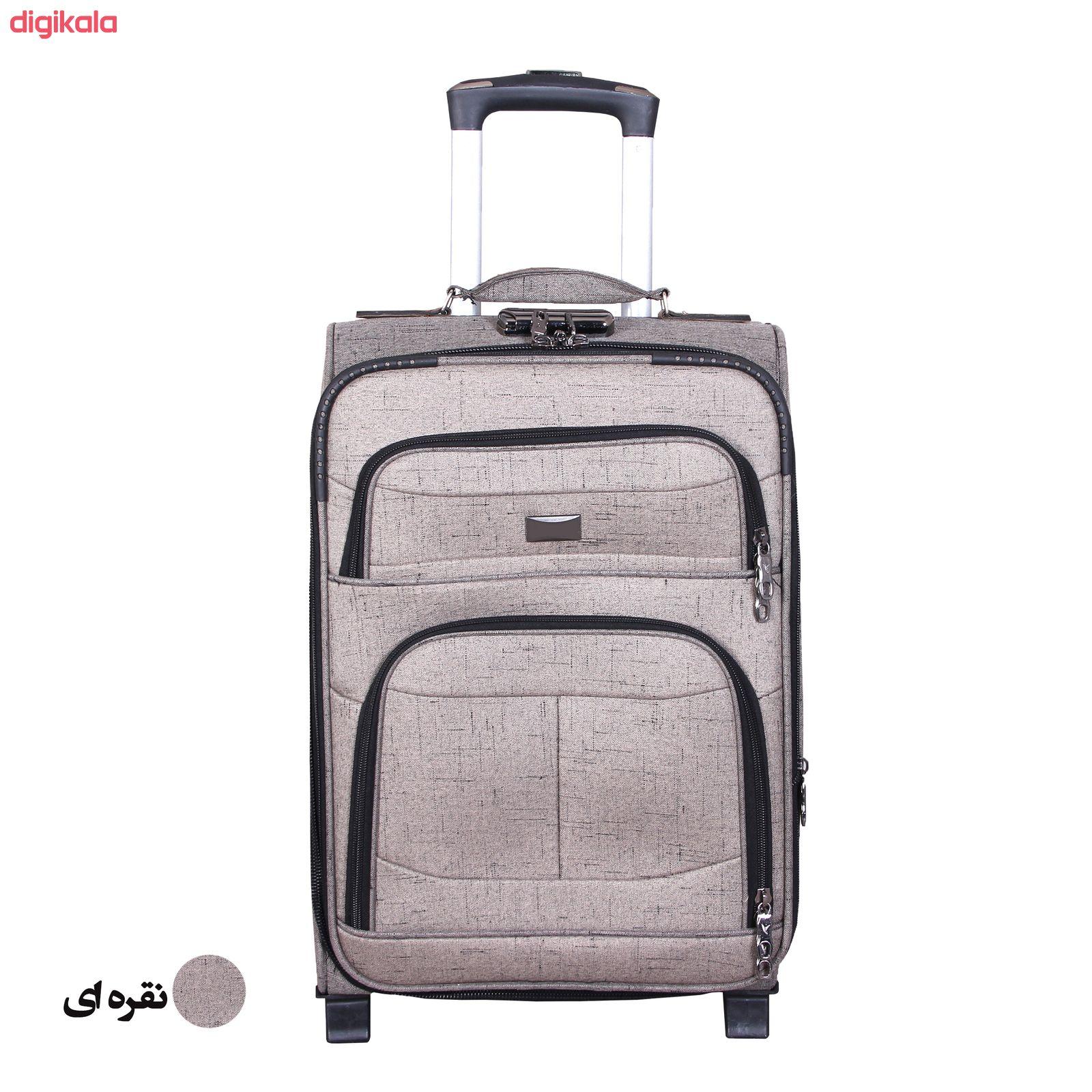 مجموعه سه عددی چمدان کد 2301A main 1 15
