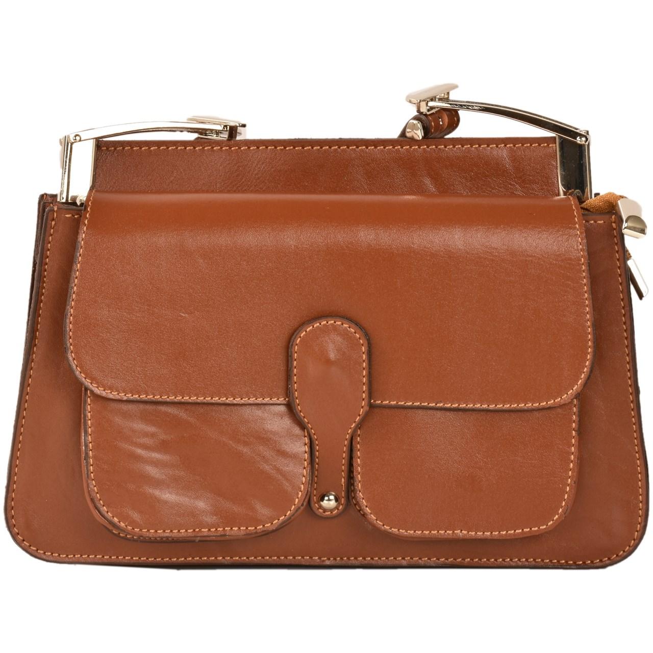 کیف رو دوشی کهن چرم مدل V158-1