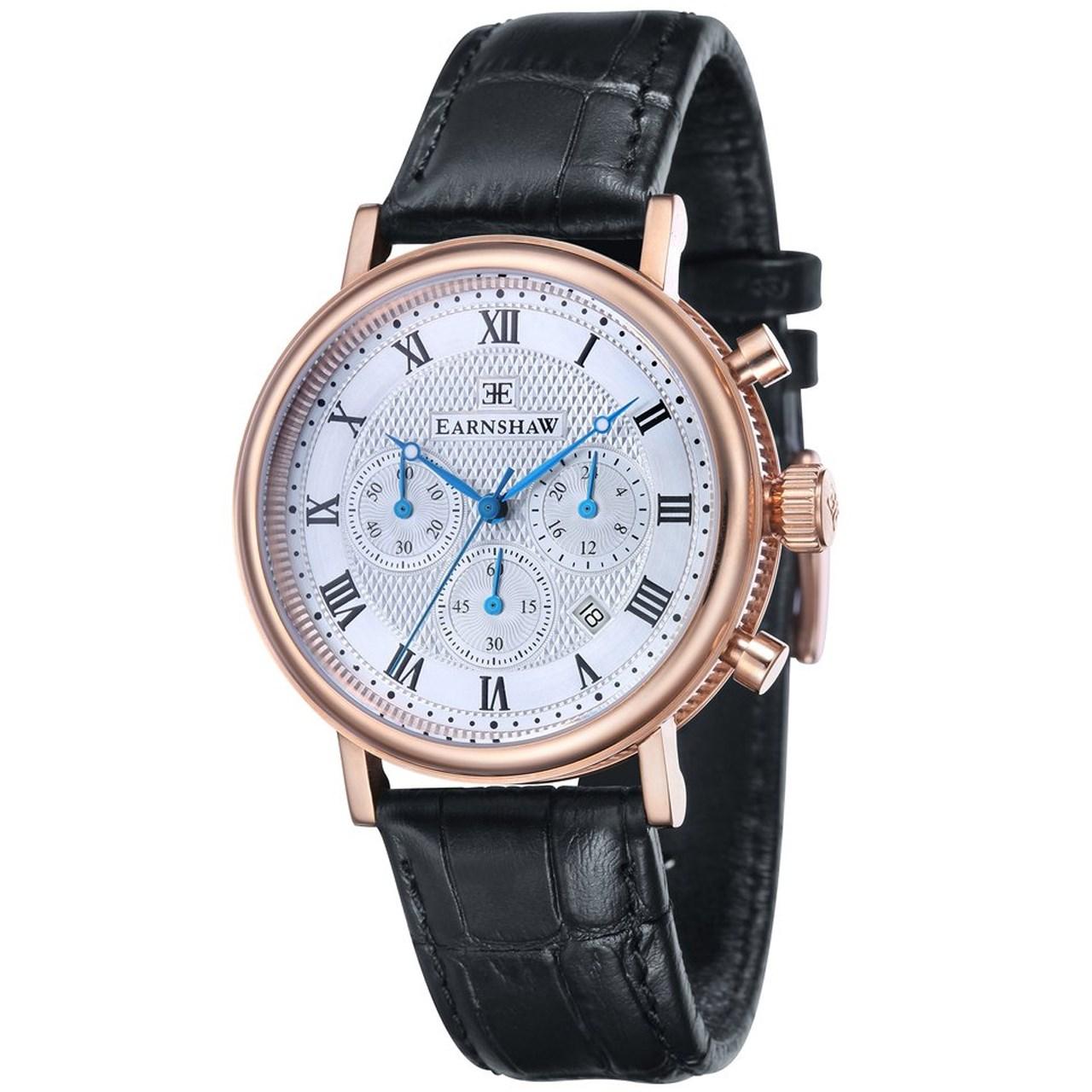 ساعت مچی عقربه ای مردانه ارنشا مدل ES-8051-02 9