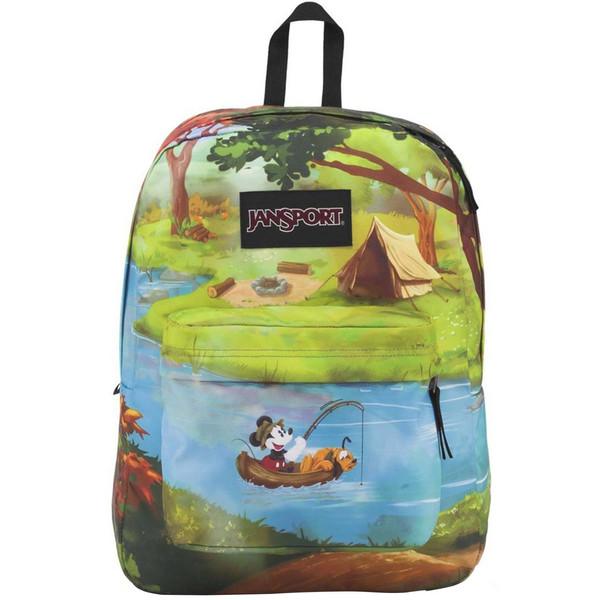 کوله پشتی جان اسپرت مدل Disney Forest Camp