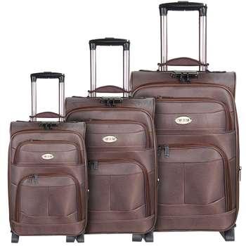 مجموعه سه عددی چمدان تاپ یورو مدل 3-522