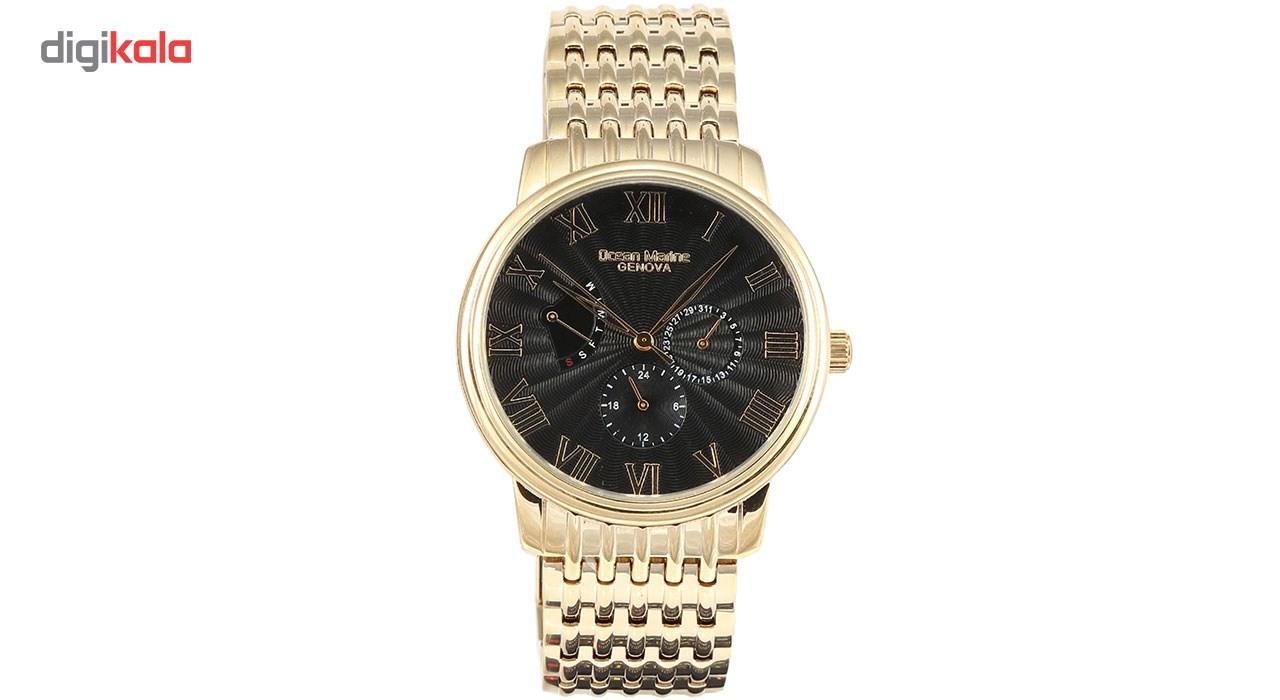 خرید ساعت مچی عقربه ای مردانه اوشن مارین مدل OM-8086-6