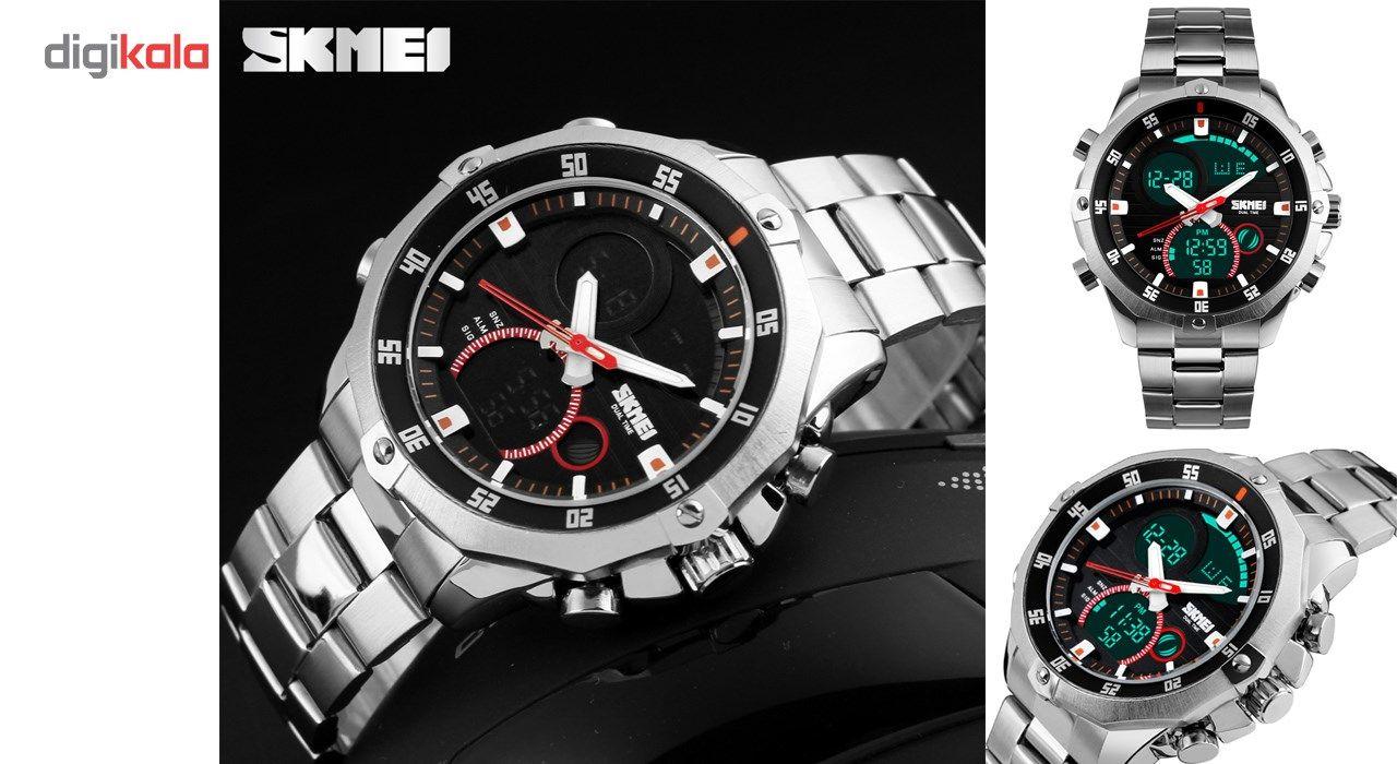 ساعت مچی دیجیتالی مردانه اسکمی مدل 1146 -  - 4