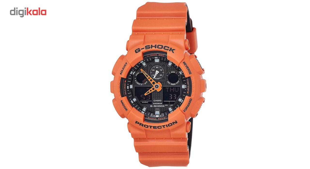 خرید ساعت مچی عقربه ای مردانه کاسیو مدل GA-100L-4ADR
