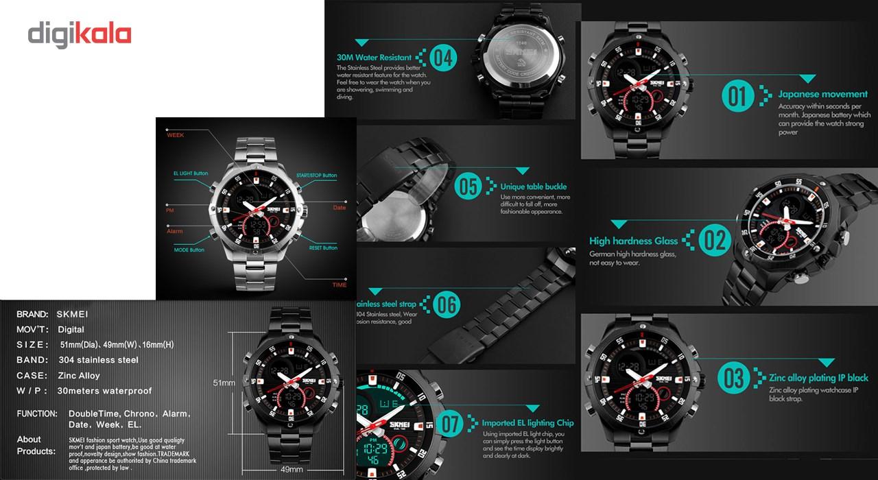 ساعت مچی دیجیتالی مردانه اسکمی مدل 1146