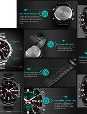ساعت مچی دیجیتالی مردانه اسکمی مدل 1146 -  - 2
