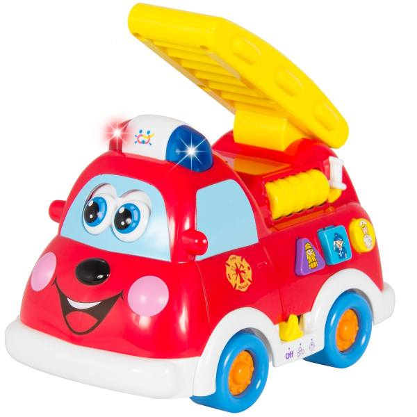 بازی آموزشی هولی تویز مدل Bilingual Intellectual Fire Truck