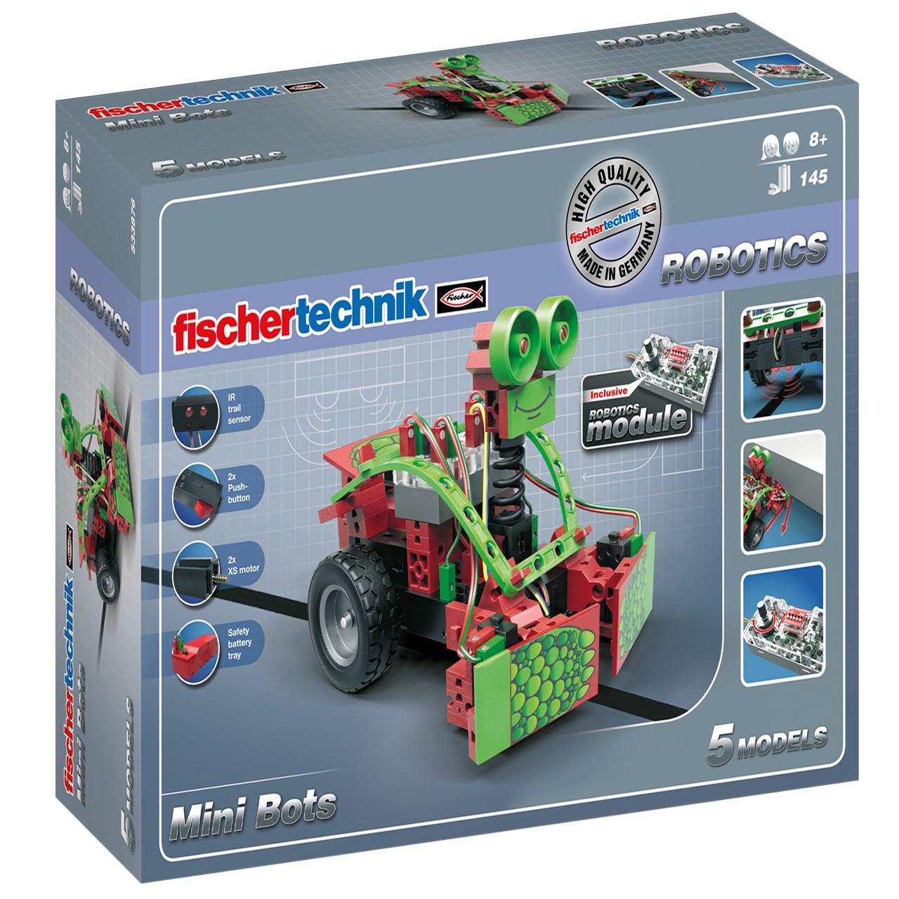ساختنی فیشر تکنیک مدل Mini Bots 533876
