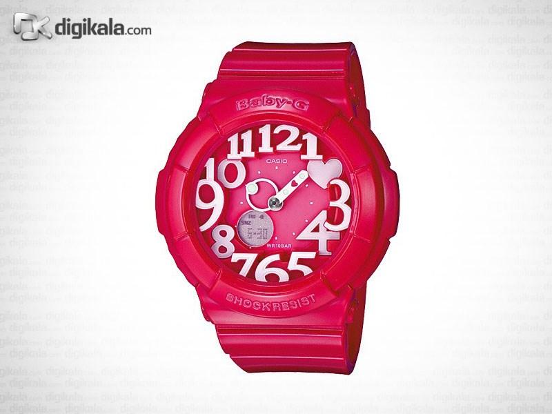 ساعت مچی زنانه کاسیو مدل BGA-130-4BDR