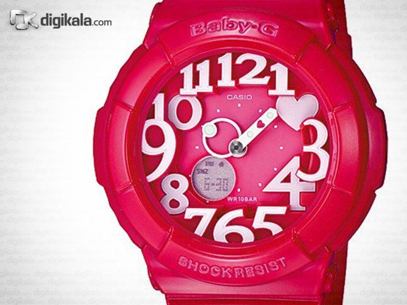 ساعت مچی زنانه کاسیو مدل BGA-130-4BDR -  - 1