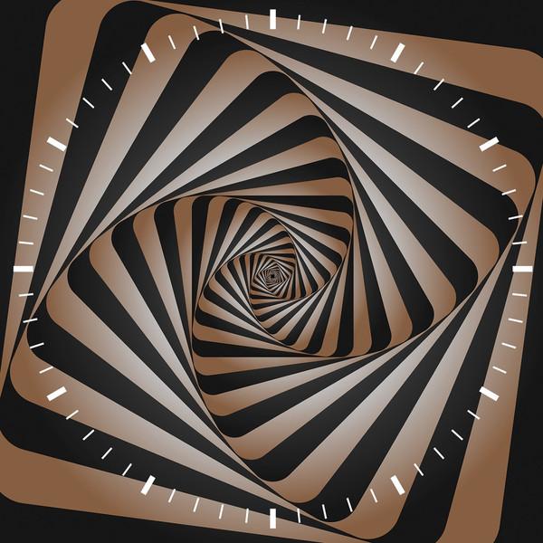ساعت دیواری ویولت دکور مدل Abstract S15