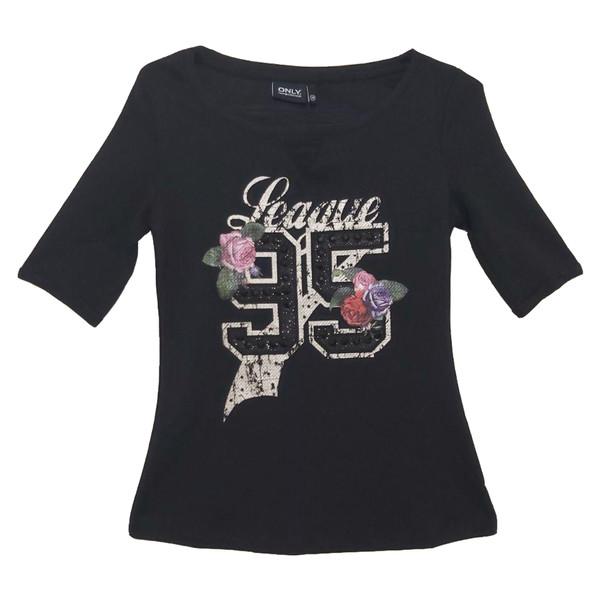 تی شرت زنانه اونلی مدل 95