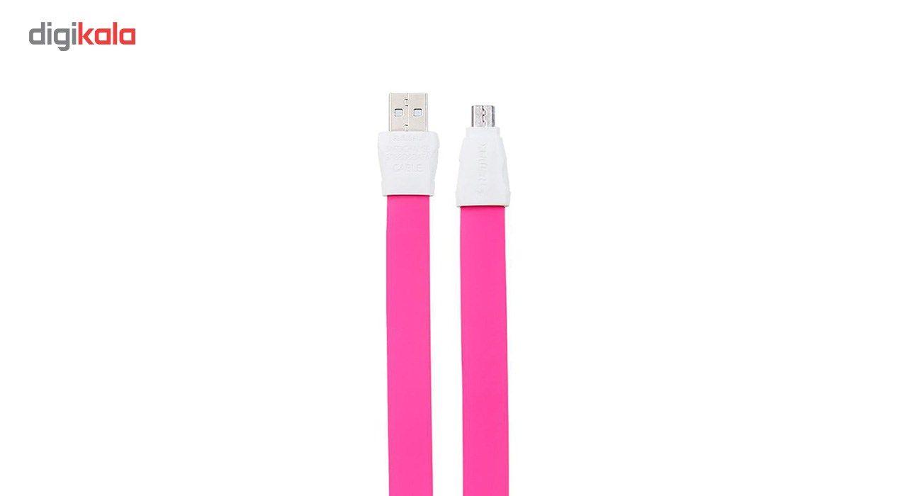 کابل تبدیل USB به microUSB ریمکس مدل Full Speed Data Line 2 به طول 1 متر main 1 1