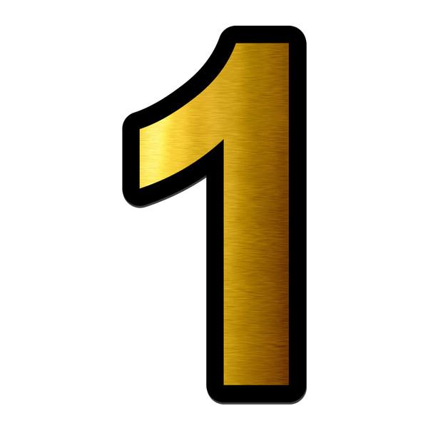 تابلو راهنما آژنگ طرح مستطیل مدل شماره و اعداد کد NO-1