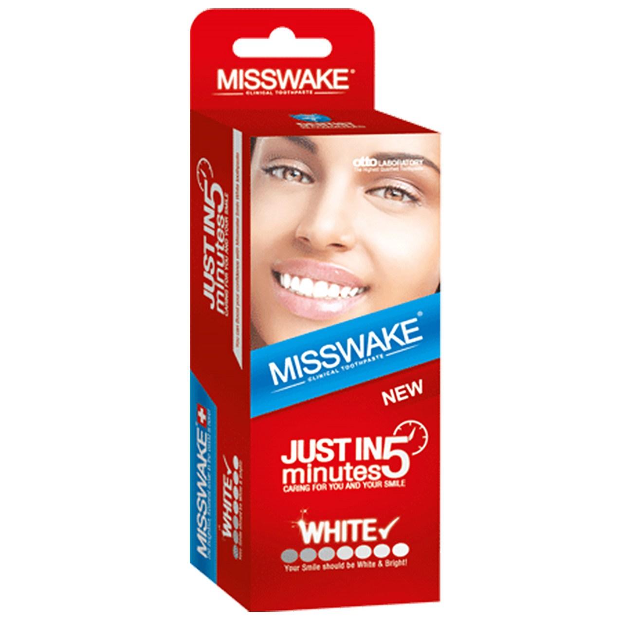 خمیر دندان سفید کننده میسویک مدل Just In 5 Minutes حجم 50 میلی لیتر
