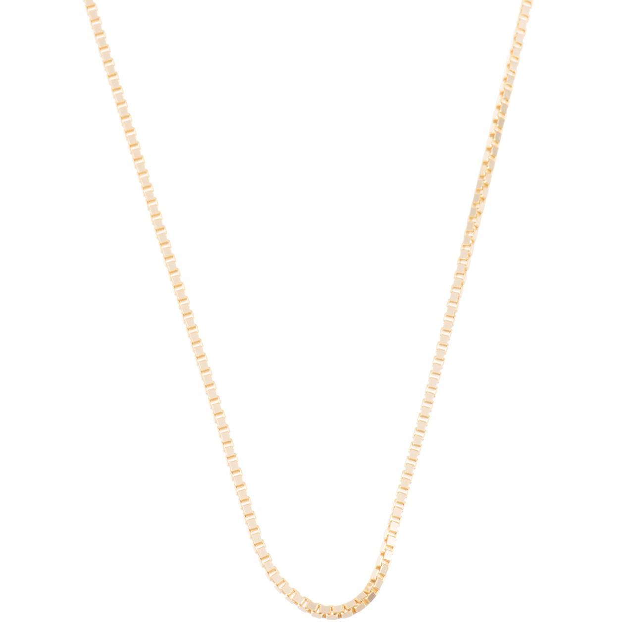 زنجیر طلا 18 عیار زرین مدل V145