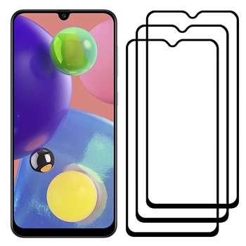 محافظ صفحه نمایش مدل FCG مناسب برای گوشی موبایل سامسونگ Galaxy A70s بسته سه عددی