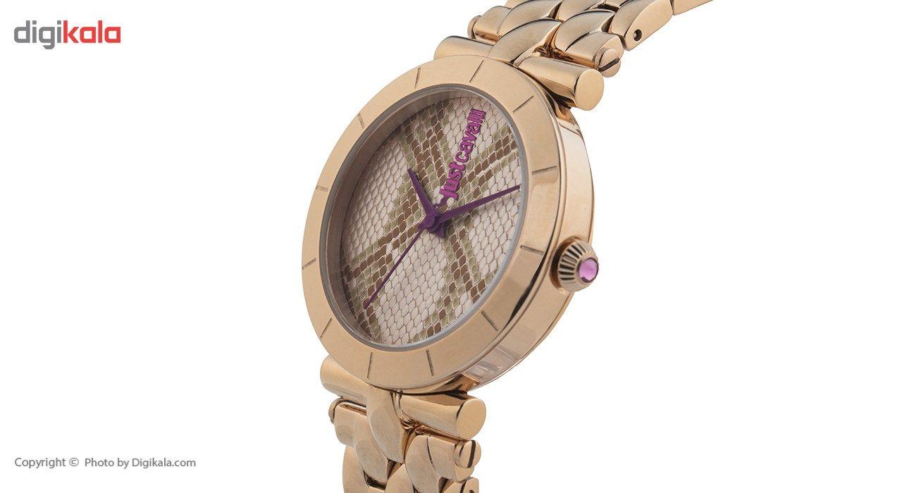 ساعت مچی عقربه ای زنانه جاست کاوالی مدل JC1L005M0085 -  - 2