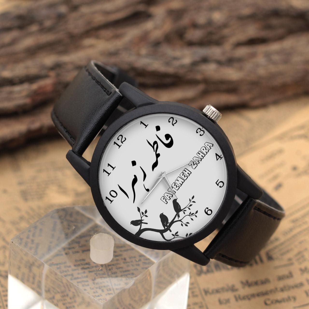ساعت مچی عقربه ای زنانه طرح فاطمه زهرا کد LF3069              ارزان