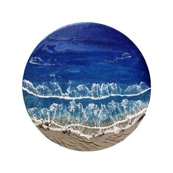 تابلو رزین مدل دریا کد 01