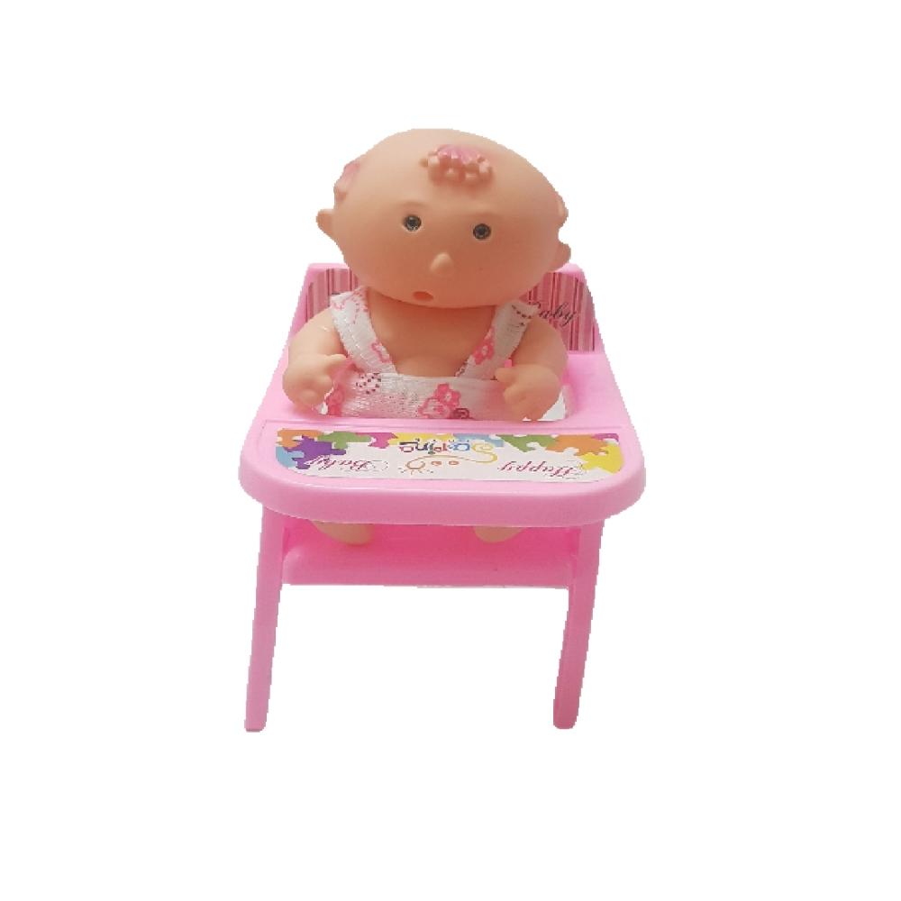 اسباب بازی مدل نوزاد و صندلی مجموعه ۲ عددی
