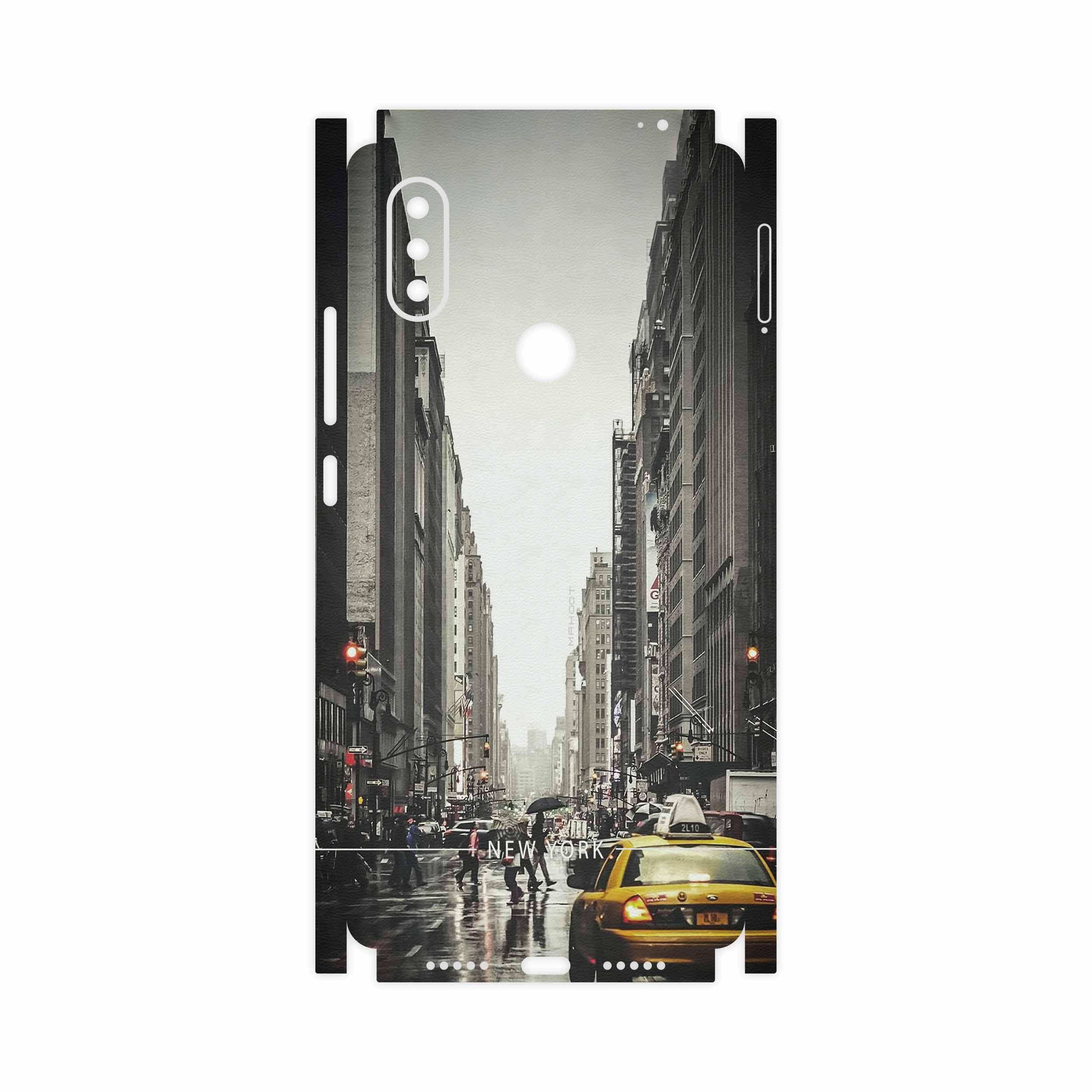 برچسب پوششی ماهوت مدل New York City-FullSkin مناسب برای گوشی موبایل شیائومی Mi 8 SE