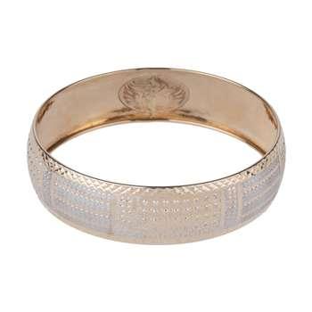 النگو طلا 18 عیار زنانه گالری یارطلا کد AL28-W-4