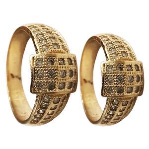 ست انگشتر زنانه و مردانه سلین کالا مدلce-As1