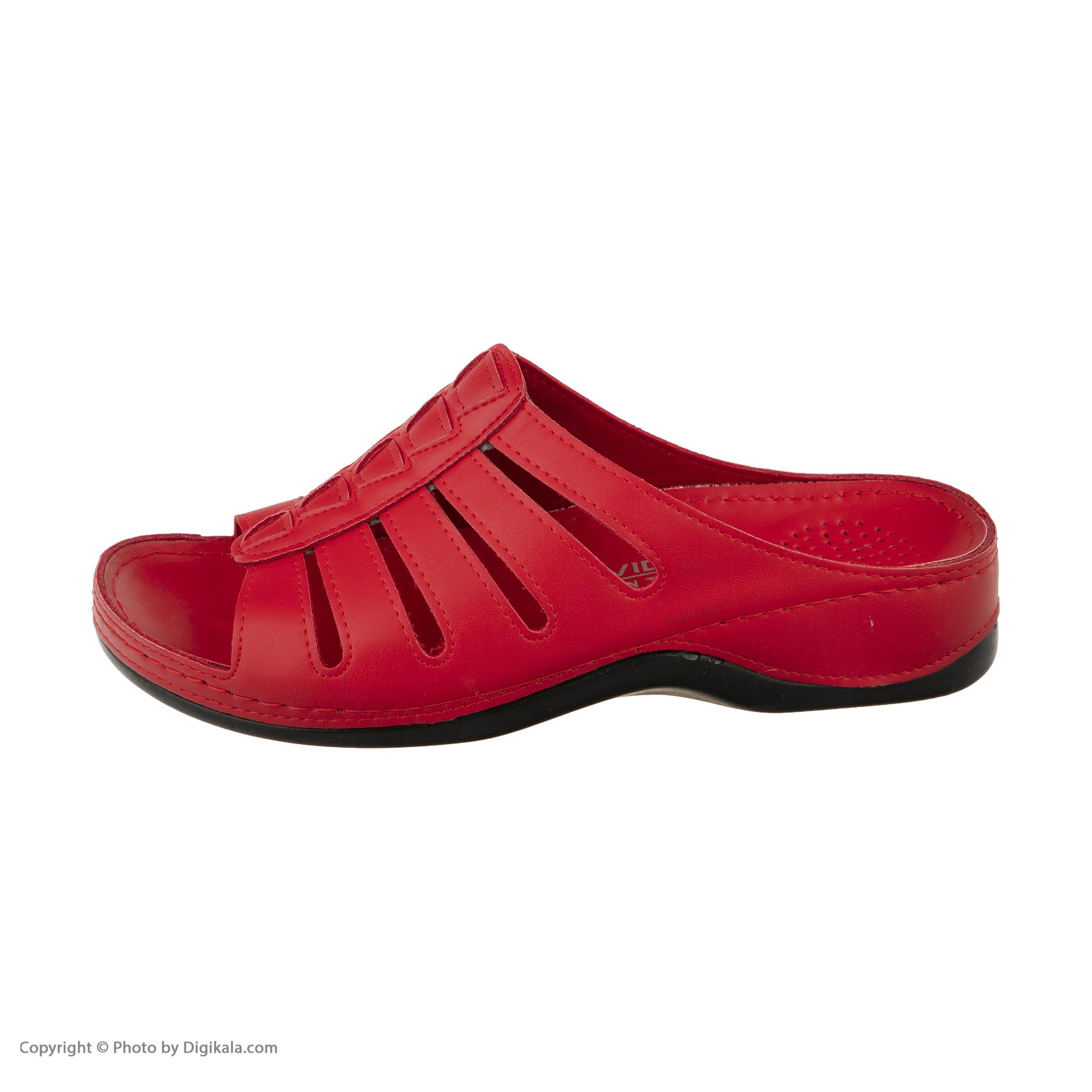 دمپایی زنانه آویده کد av-0304206 رنگ قرمز -  - 5
