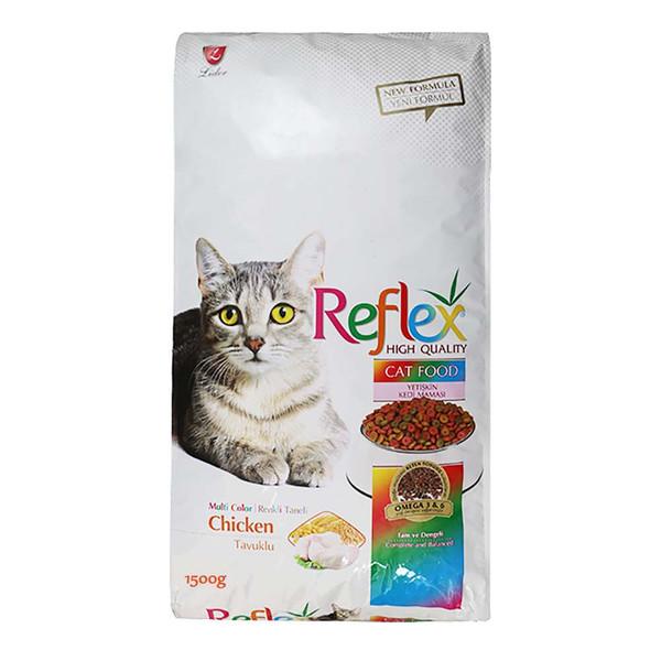 غذای گربه رفلکس مدل Multi 3 وزن 1.5 کیلوگرم